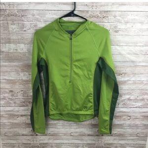 Novara cycling bike long sleeve jersey 3/4 zip